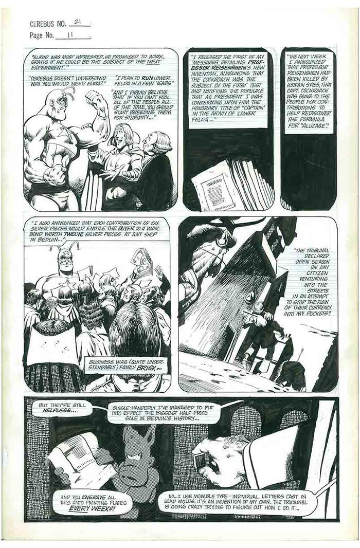 9. CEREBUS No.21 page 11