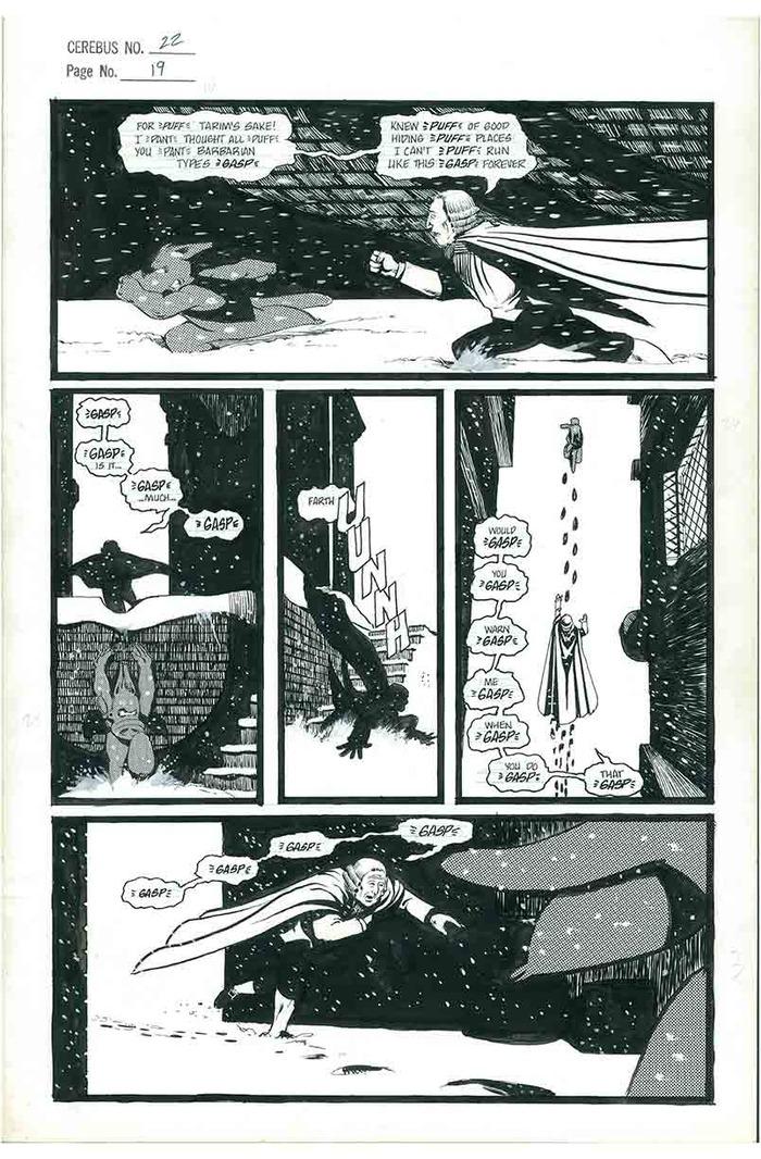 10. CEREBUS No.22 page 19