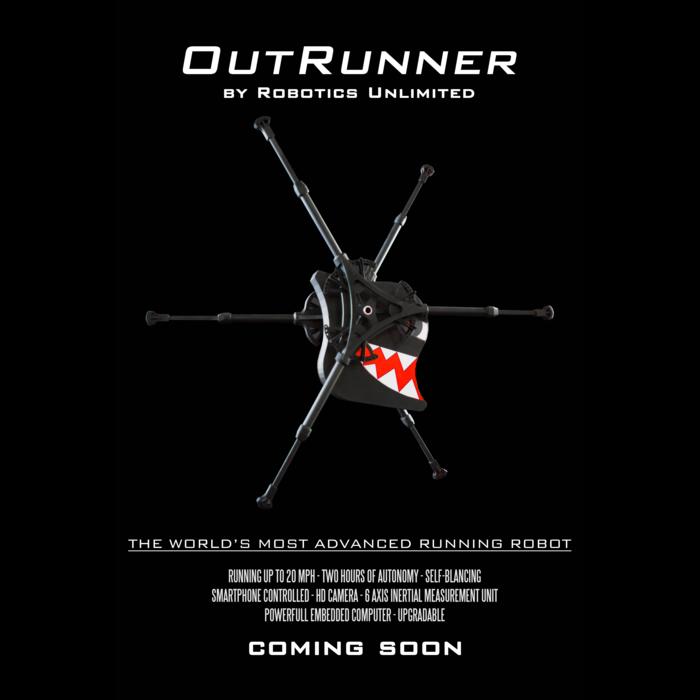 OutRunner Poster (KickStarter Limited Edition)