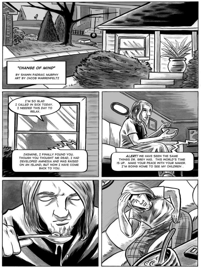 The End #3 - Change Of Mind by Jacob Warrenfeltz
