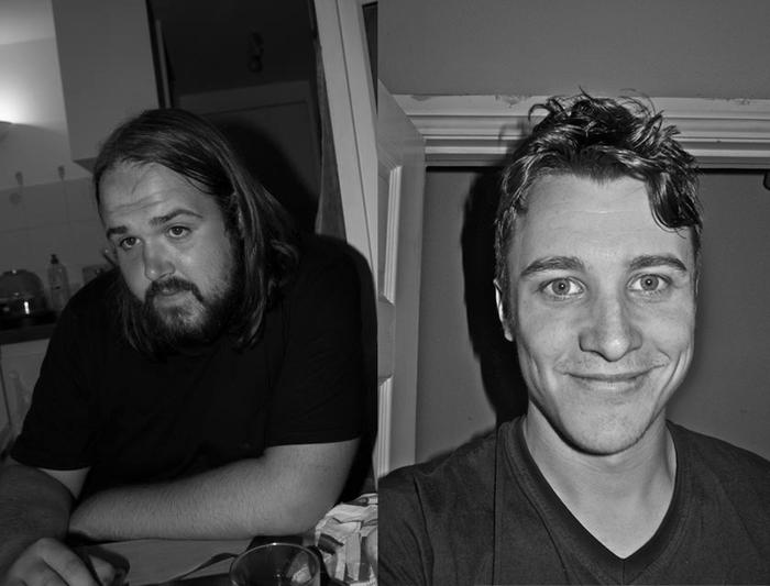 Wayne (Left) Sean (Right)