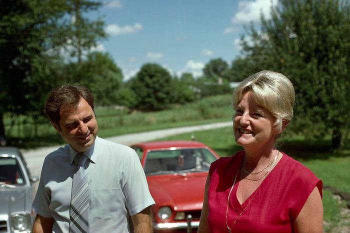 Church Couple, Ft. Wayne, Indiana 1978