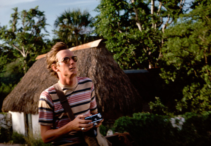 Sam, Hitchhiking to Tulum, Mexico 1978