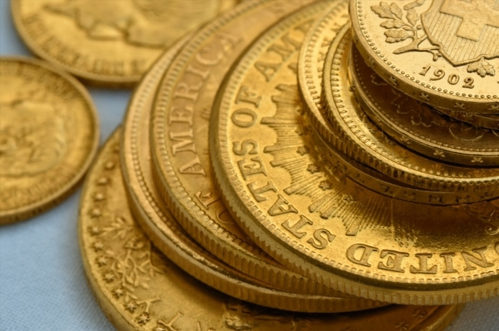 Gold coins and 'intrinsic' value