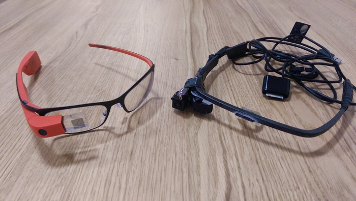 (mi)Display vs Google Glass
