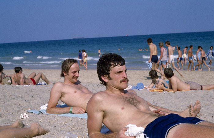 Christian Staff Members take a Beach Break, Ft. Lauderdale, FL  1979