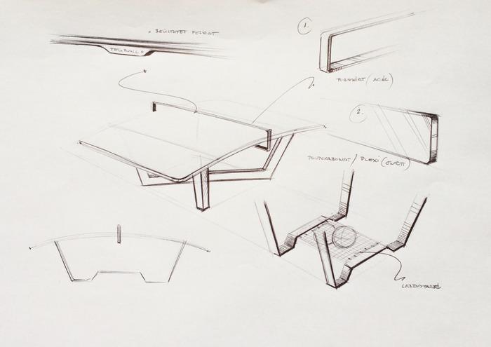 Teqball - Design drafts