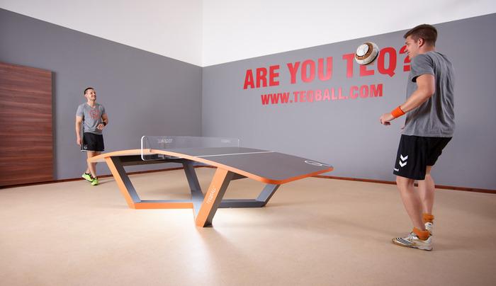 Teqball - Original grey-orange colour! A fun sport for all!