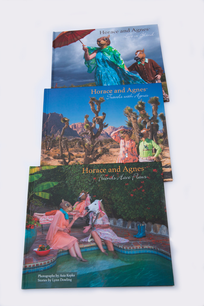 Horace and Agnes -Book Trilogy ( Pledge $1000 or more)