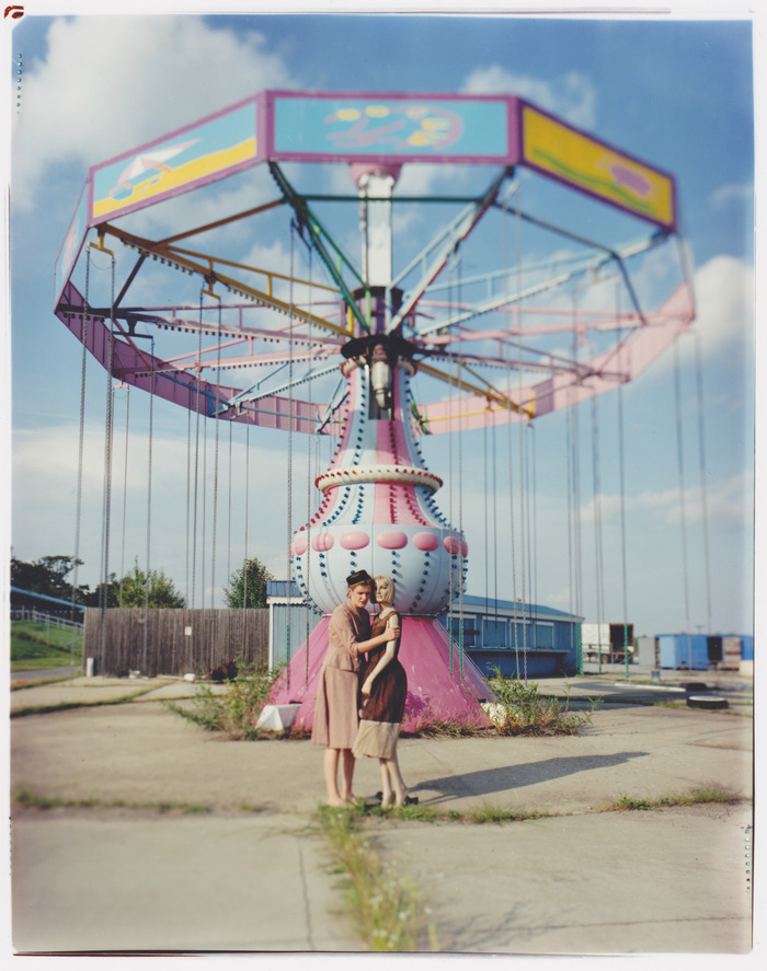 """Bridget and I """"Carousel"""" 8x10 custom print, edition of 20 ( Pledge $180.00 or more) Available also as 20x24 , edition of 5 ( Pledge $800 or more)"""