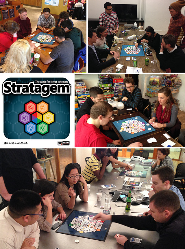 My favorite part of playing Stratagem is when I get to introduce it to new people