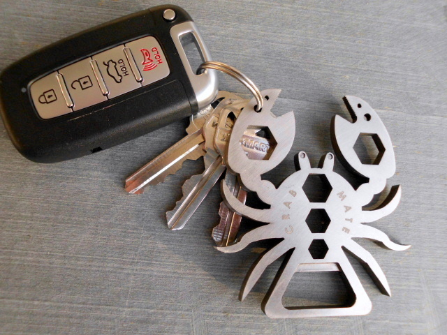 Crab Mate Prototype on Key Chain