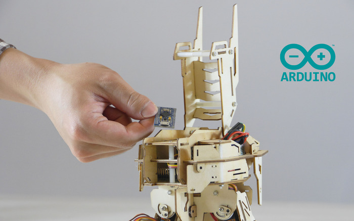 Reserved Space for Mini Arduino