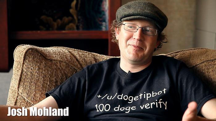 Josh Mohland, Dogetipbot Creator