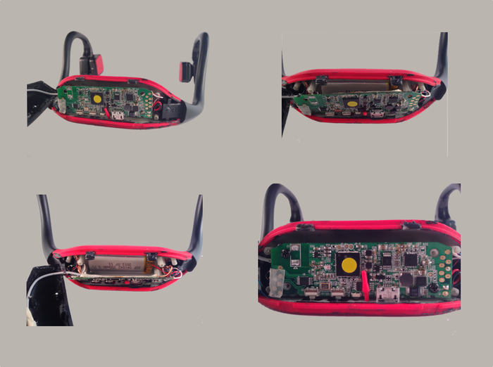 Working Prototype PCB and Battery Housing images