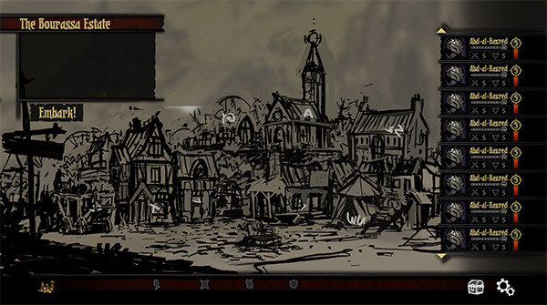 Town View Sketch