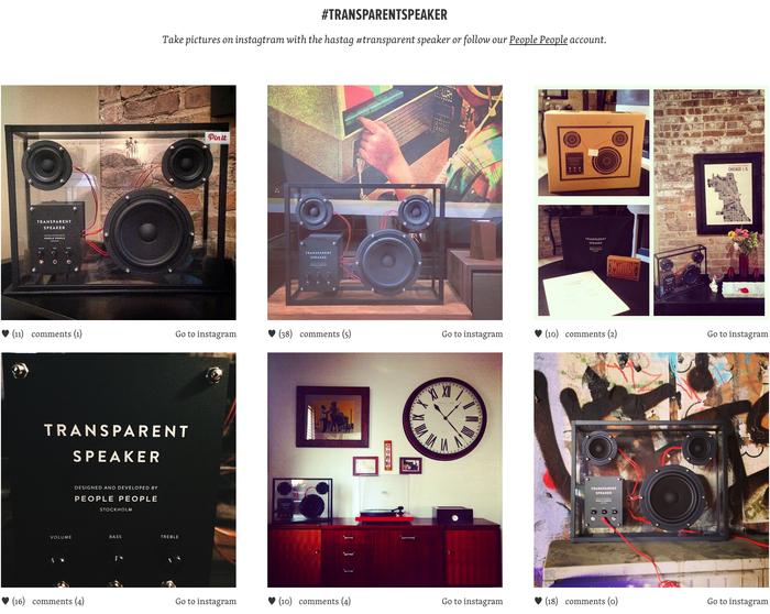 instagram images on transparentspeaker.com