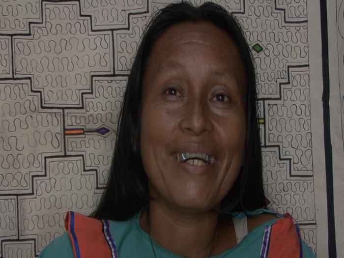 Maestra Estela Pangoza Sinacay