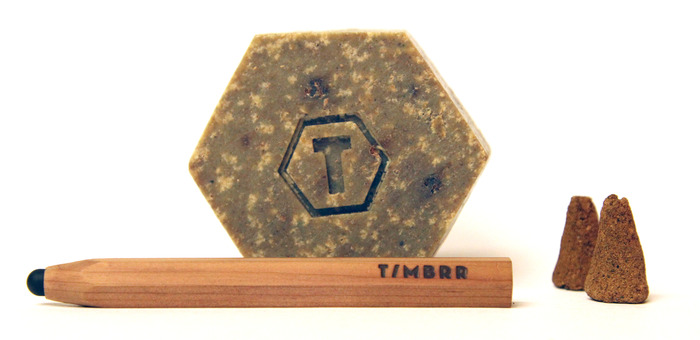 Timbrr, Cedar soap and incense