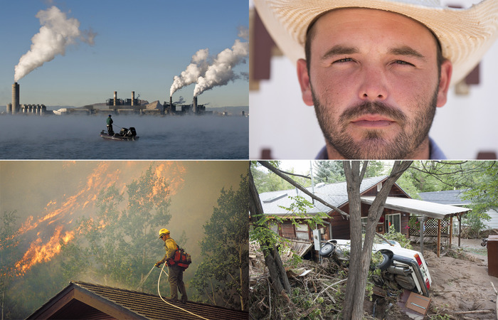 "Stills from ""Americans on the Front Lines of Climate Change"""