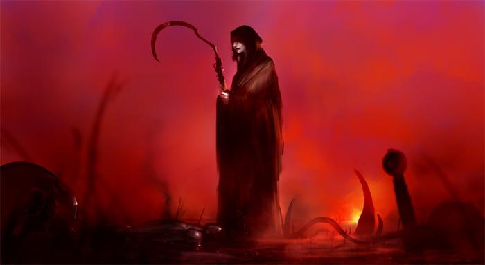 The Grim Reaper awaits!