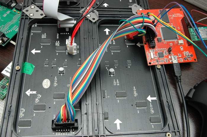 RGB Panel Connections