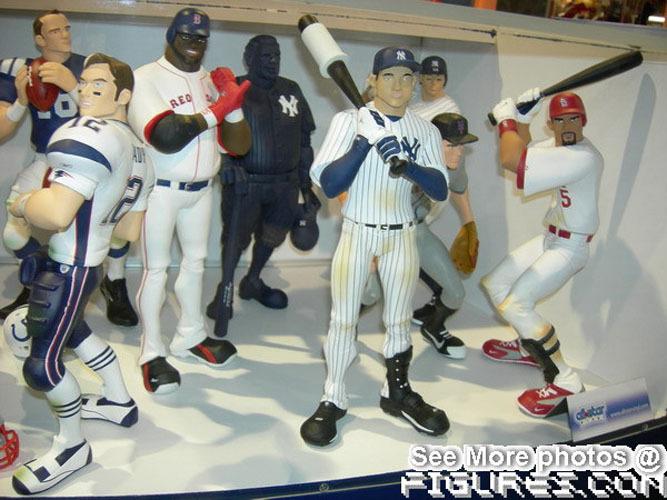 Various Sports figures for Upperdek