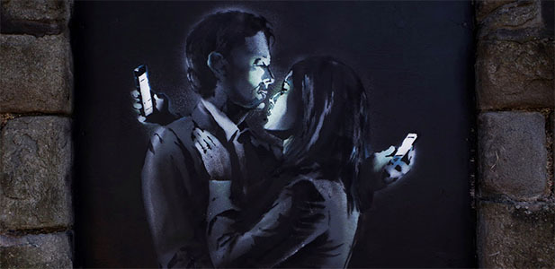 What happens when a digital relationship is manifested in the real world?