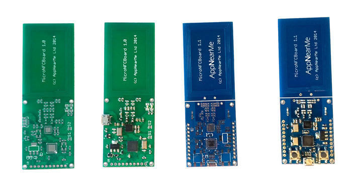 Different PCBs and prototypes