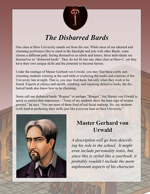 Disbarred Bards