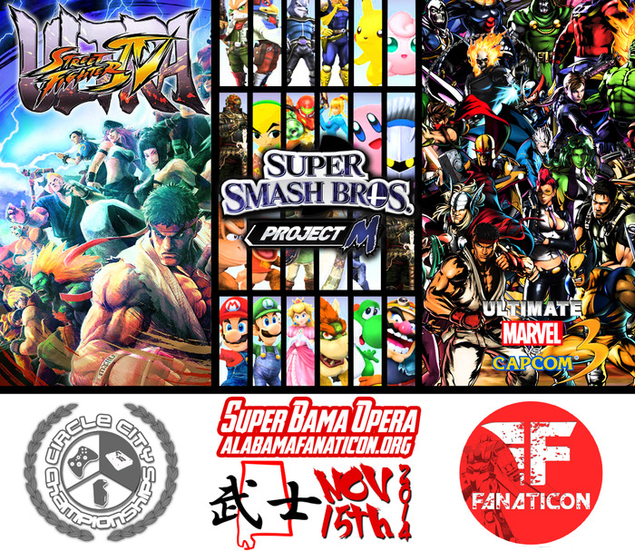 Fighting Game Tournament Announced!