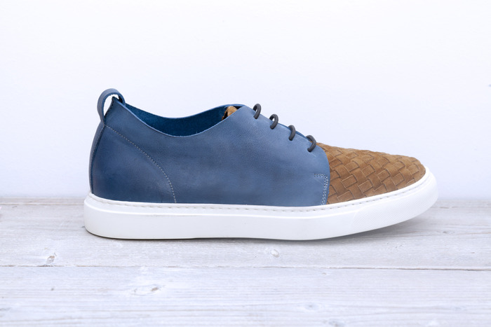 LOTTO Hand Woven Limited - Man's Blue, only a batch of 18 pairs will be ever made!