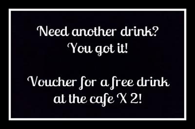 $15 Reward - Drink Voucher X 2