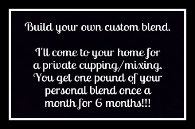 $750 Reward - Private Cupping & 6 Month Subscription (1 lb/mo.)