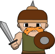 Warrior, a trainable unit.