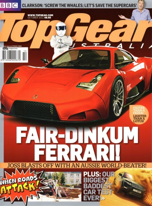 Top Gear Australia, October 2011