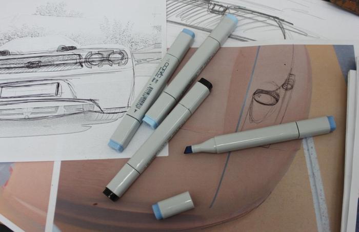 Above: The JOSS JP1 Track Car under development