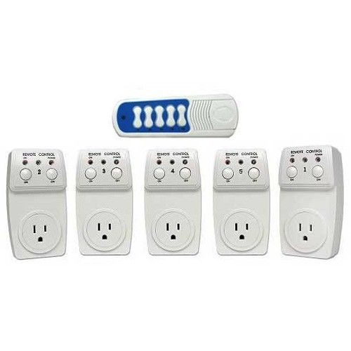 Remote Control AC Electrical Power Outlet Plug Switch
