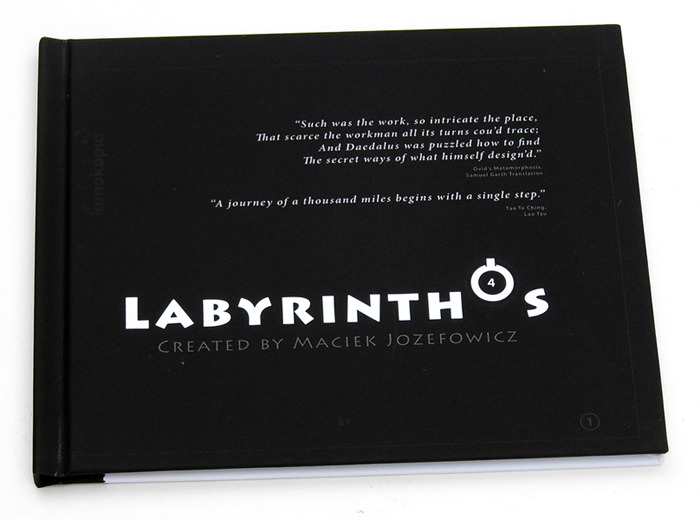 "The original ""Labyrinthos"" book."