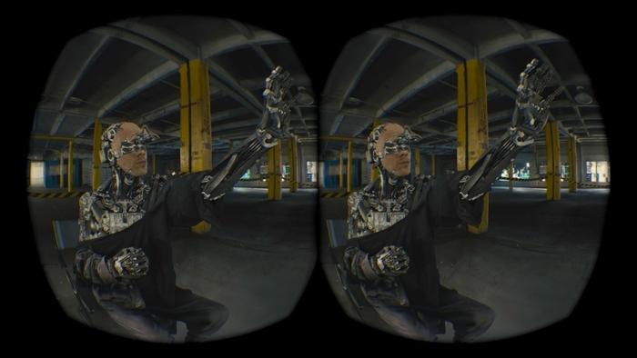RISE Oculus VR experience, courtesy of Nurulize