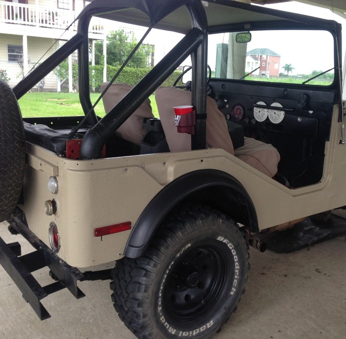 Roll bar on your jeep