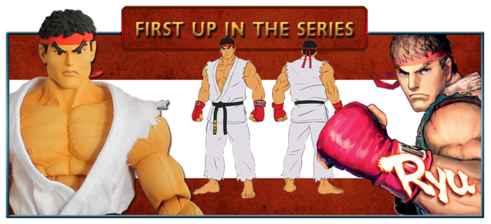 The First Contender is 7 inch Ryu……HADOKEN!!!!