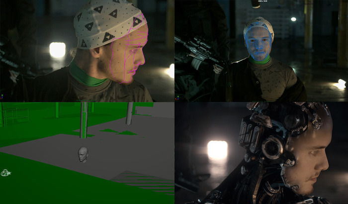 VFX process for the lead character, Basil