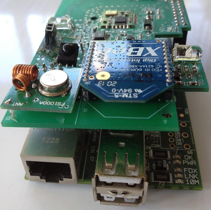 Pi-Home + Raspberry Model B