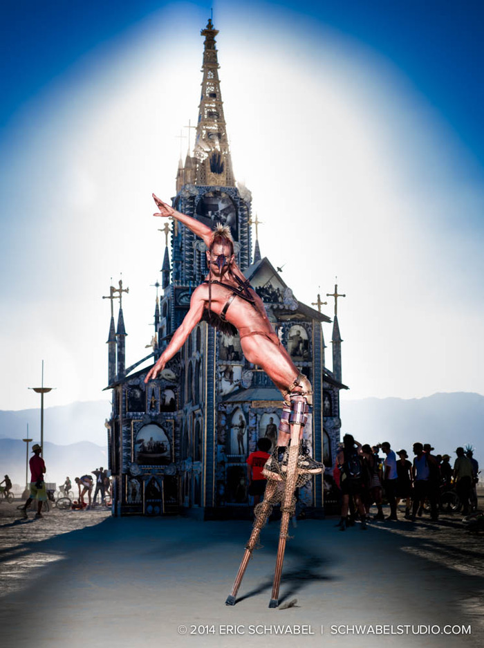 Fantastic installation, superb human.  2013