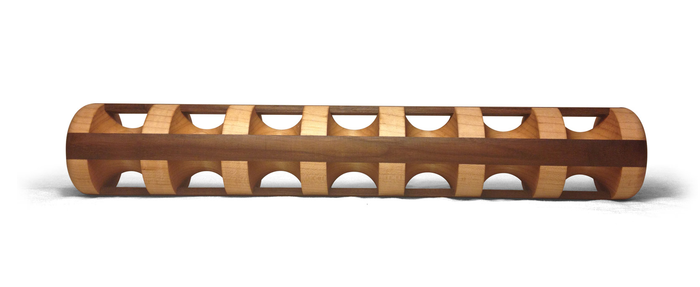 """Maple core with walnut accent - 17"""""""