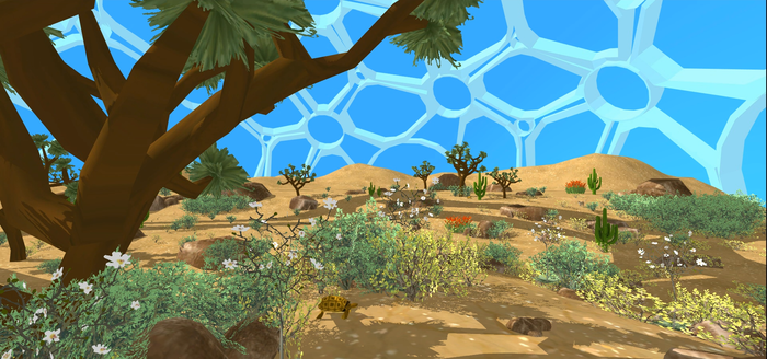Image of the Desert biodome.