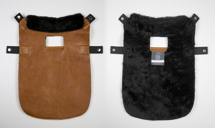 Deetach coat. Front and Back.