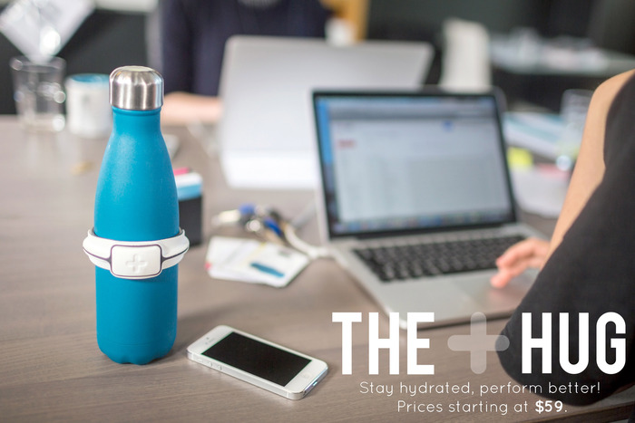 The Hug makes the office look so much nicer. But more importantly, being properly hydrated can help you finish those nasty excel sheets!