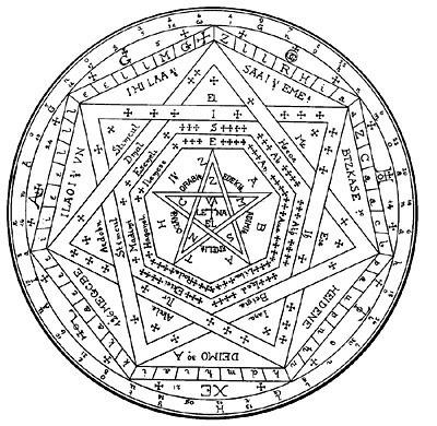 A Devil's Trap Symbol